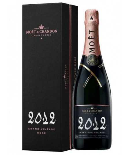 MOET et CHANDON champagne Grand Vintage Rosé 2012