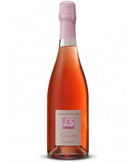 Organic Champagne CHEURLIN Brut Rosé Pluie D'Eté