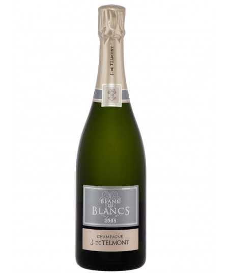 J. DE TELMONT Champagne Blanc De Blancs 2008 vintage