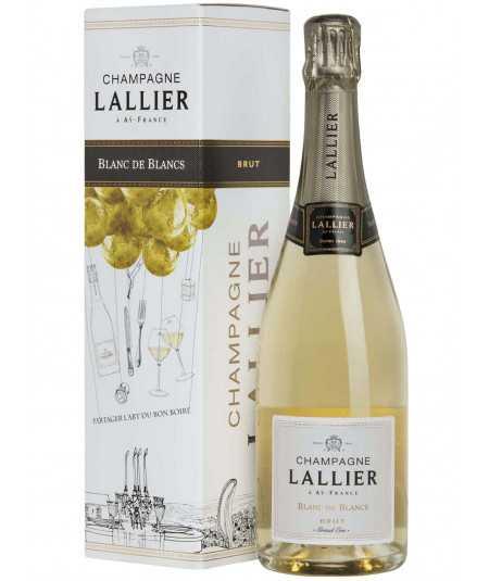 LALLIER Champagne Blanc de Blancs Grand Cru