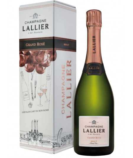 LALLIER Champagne Grand Rose