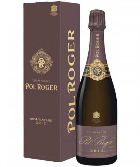 POL ROGER Champagne Rosé Vintage 2012