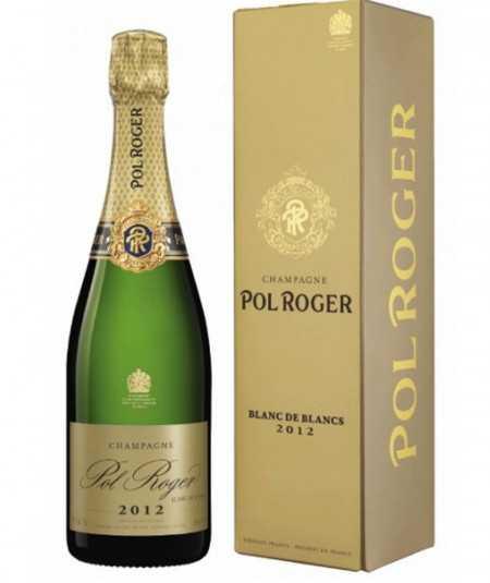 POL ROGER Champagne Blanc De Blancs Vintage 2012