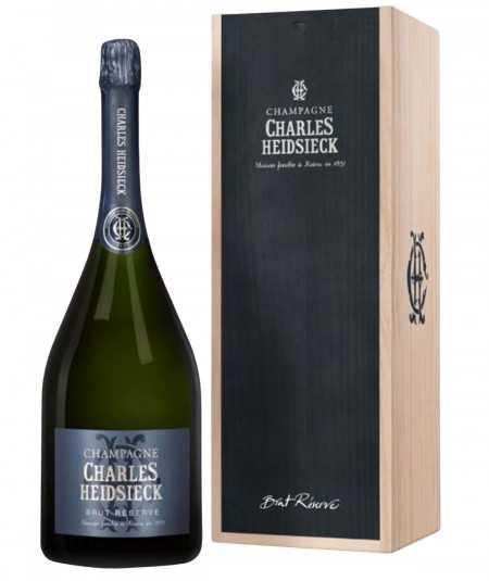 Champagne Jeroboam of CHARLES HEIDSIECK Reserve