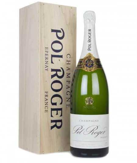 Jeroboam of POL ROGER Champagne Réserve Brut