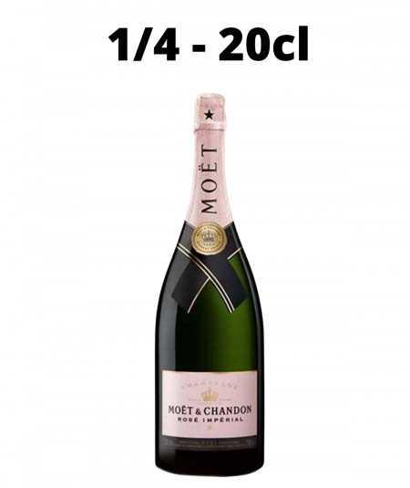 Quarter bottle MOET & CHANDON Champagne Rose Imperial
