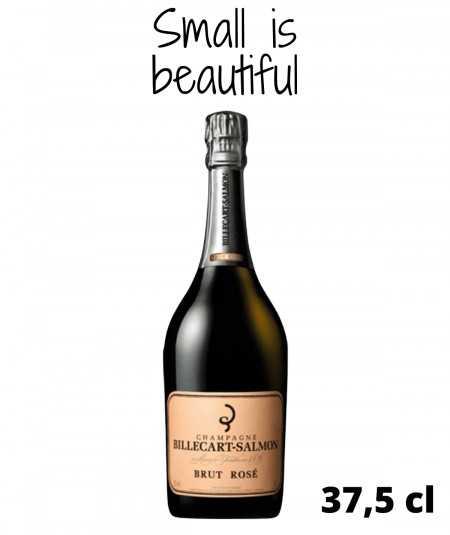 Half-bottle of Champagne BILLECART SALMON Brut Rose