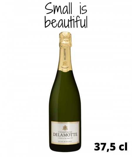 Half Bottle of Champagne DELAMOTTE Blanc De Blancs Grand Cru
